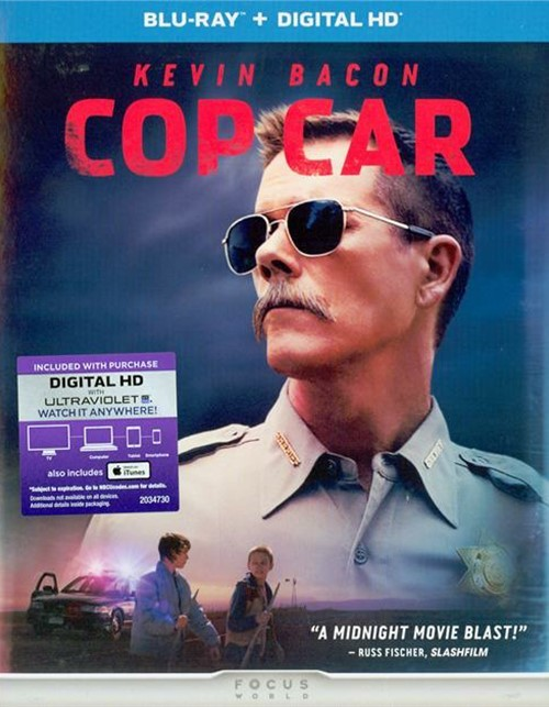 Cop Car (Blu-ray + UltraViolet)
