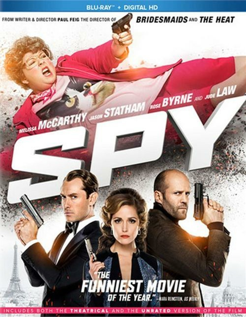 Spy (Blu-ray + UltraViolet)