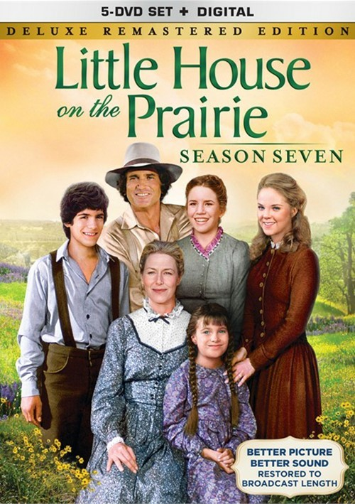Little House On The Prairie: Season 7 Deluxe Remastered Edition (DVD + UltraViolet)