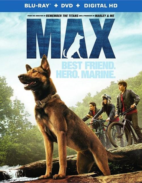 Max (Blu-ray + DVD + UltraViolet)
