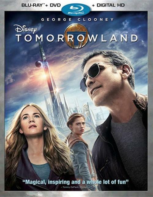 Tomorrowland (Blu-ray + DVD + UltraViolet)