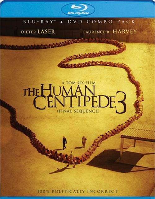 Human Centipede 3, The: Final Sequence (Blu-ray + DVD Combo)