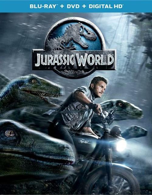 Jurassic World (Blu-ray + DVD + UltraViolet)