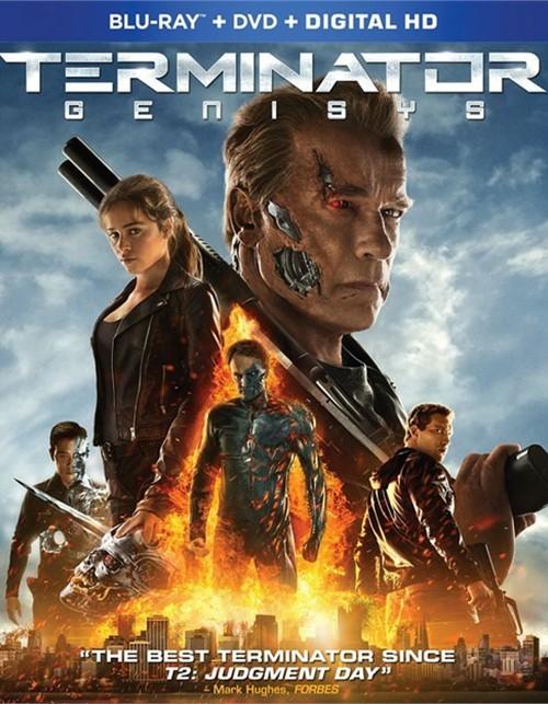 Terminator: Genisys (Blu-ray + DVD + UltraViolet)