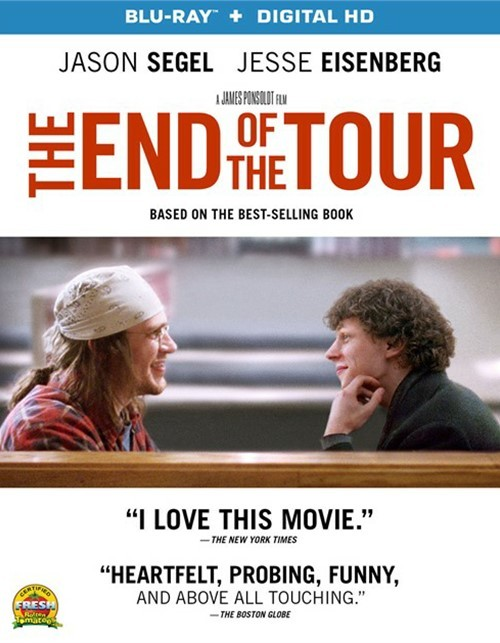 End Of The Tour, The (Blu-ray + UltraViolet)