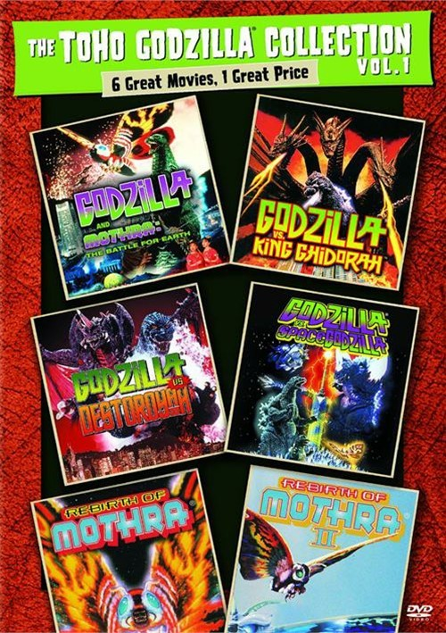 Toho Godzilla Collection, The: Volume 1