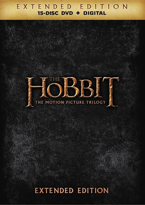 Hobbit, The: The Motion Picture Trilogy - Extended Edition (DVD + UltraViolet)