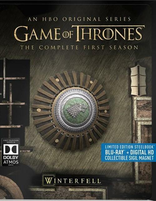 Game of Thrones: The Complete First Season (Steelbook + Blu-ray + Digital Copy)