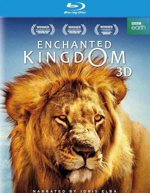 Enchanted Kingdom (Blu-ray 3D + Blu-ray + DVD)