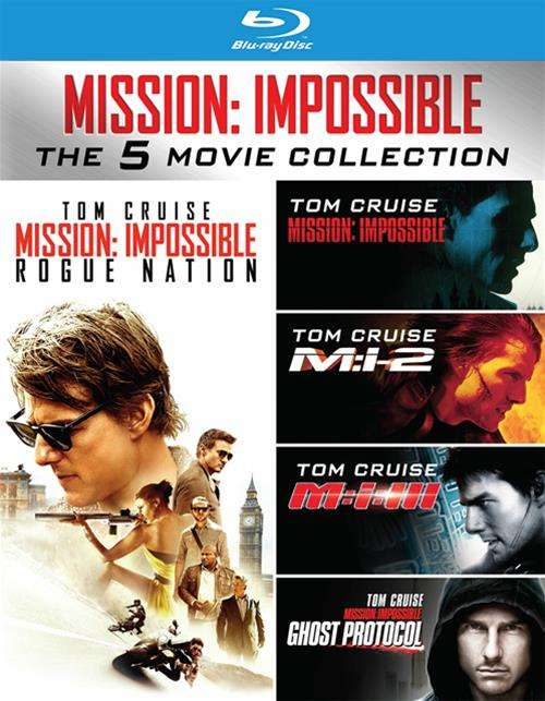 Mission Impossible 5-Movie Collection