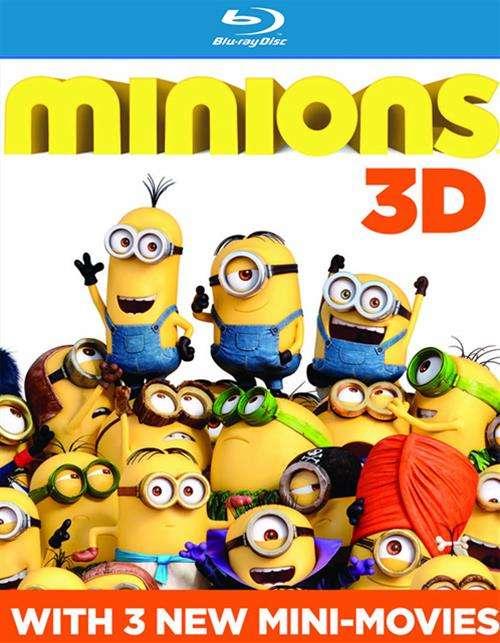 Minions (Blu-ray 3D + Blu-ray + DVD + UltraViolet)