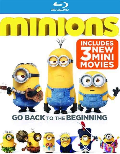 Minions (Blu-ray + DVD + UltraViolet)