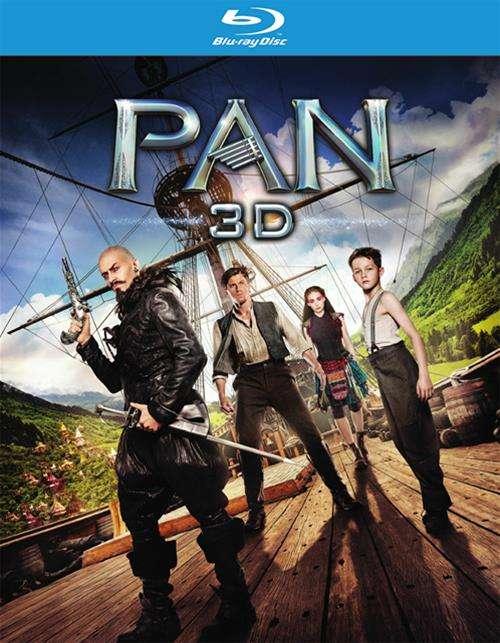 Pan (Blu-ray 3D + Blu-ray + DVD + UltraViolet)