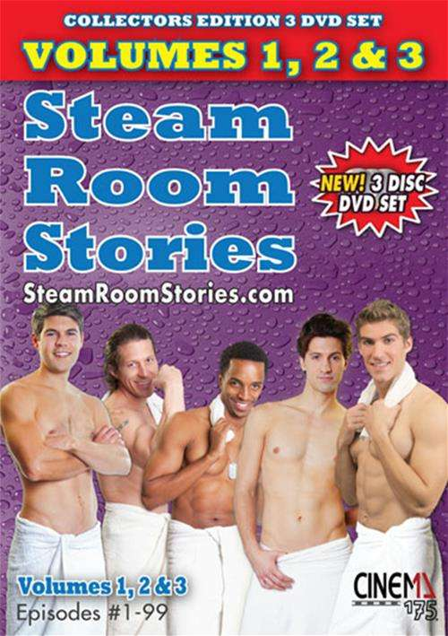 Steam Room Stories Volumes 1, 2, 3