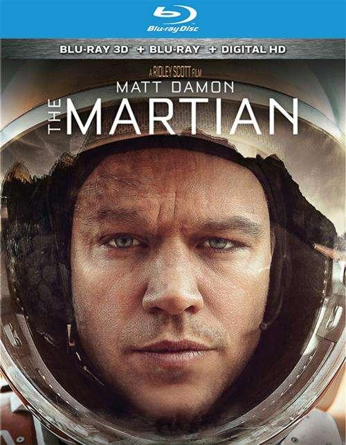 Martian, The (Blu-ray + Blu-ray 3D + UltraViolet)