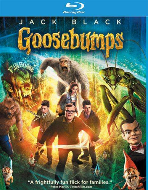 Goosebumps (Blu-ray 3D + Blu-ray + DVD + UltraViolet)