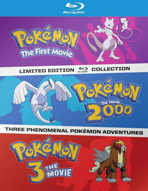 Pokemon: The First Three Movies
