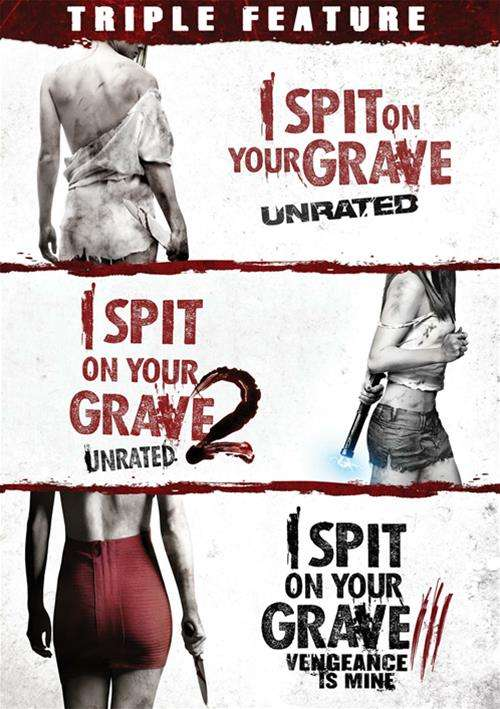I Spit On Your Grave 3-Pack