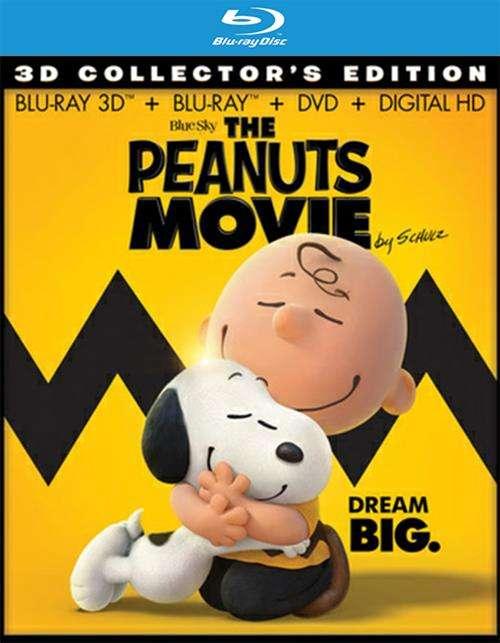 Peanuts Movie, The (Blu-ray 3D + Blu-ray + DVD + UltraViolet)