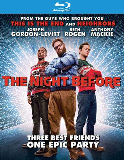 Night Before, The (Blu-ray + UltraViolet)