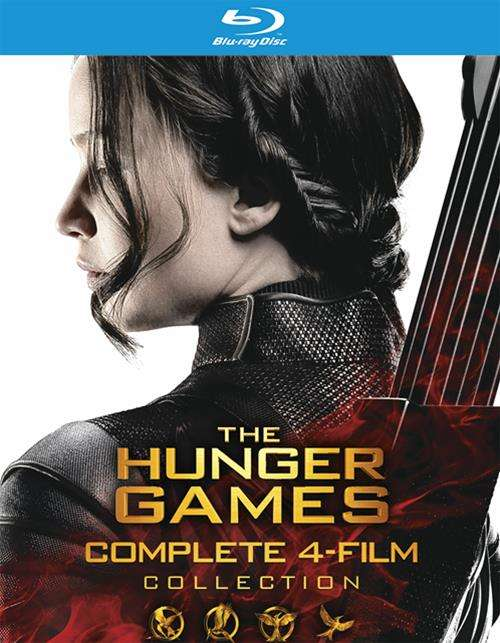 Hunger Games, The: The Complete 4-Film Collection (Blu-ray + UltraViolet)