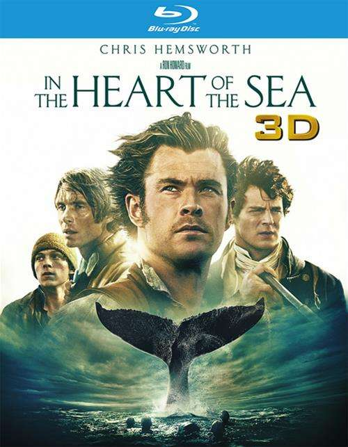 In The Heart Of The Sea (Blu-ray 3D + Blu-ray + DVD + Ultraviolet)