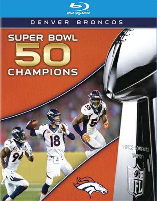 Superbowl 50: Denver Broncos vs. Carolina Panthers (Blu-ray + DVD Combo)