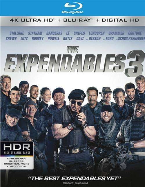 Expendables 3, The (4K Ultra HD + Blu-ray + UltraViolet)