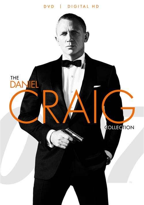 007 The Daniel Craig Collection (DVD + UltraViolet)