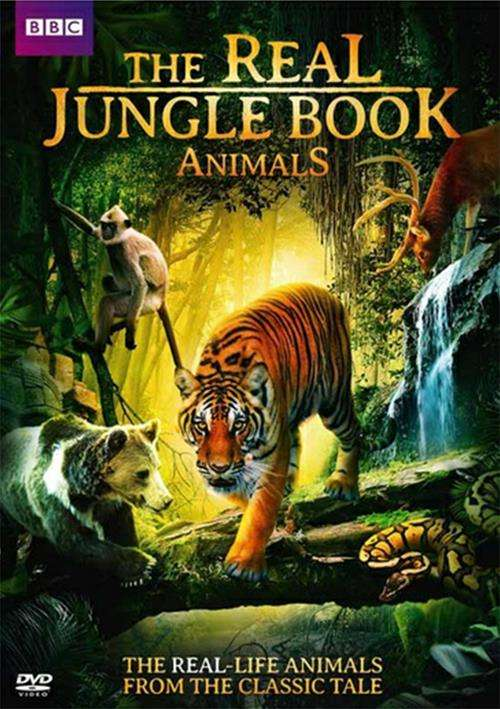 Real Jungle Book Animals, The