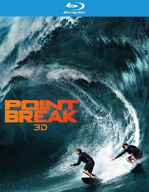 Point Break (Blu-ray 3D + Blu-ray + DVD + UltraViolet)