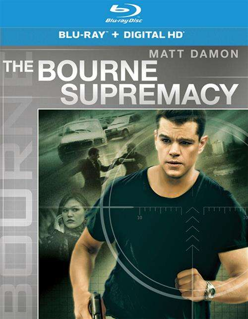 Bourne Supremacy, The (Blu-ray + UltraViolet)