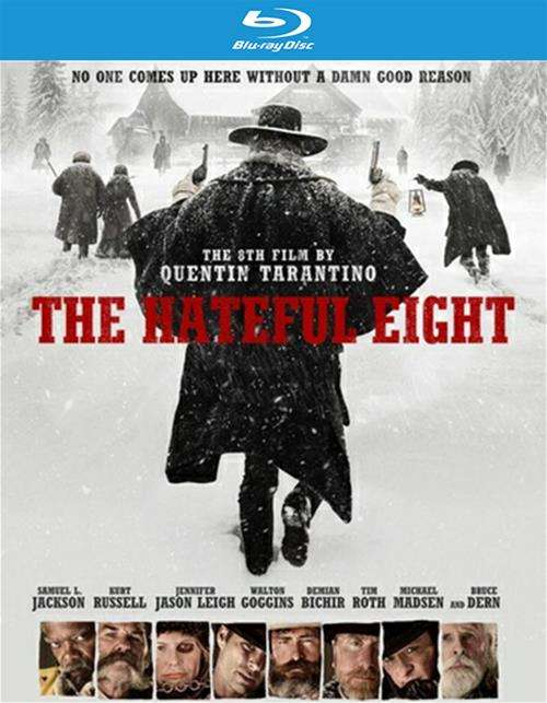 Hateful Eight, The (Blu-ray + DVD + UltraViolet)