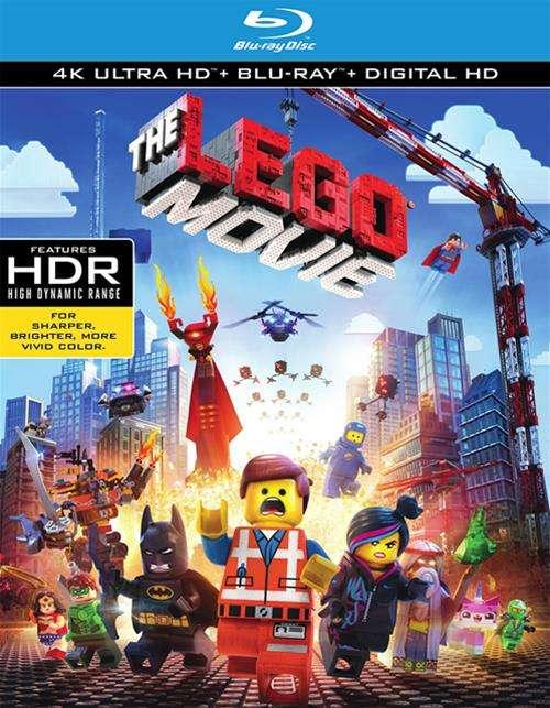 Lego Movie, The (4K Ultra HD + Blu-ray + UltraViolet)