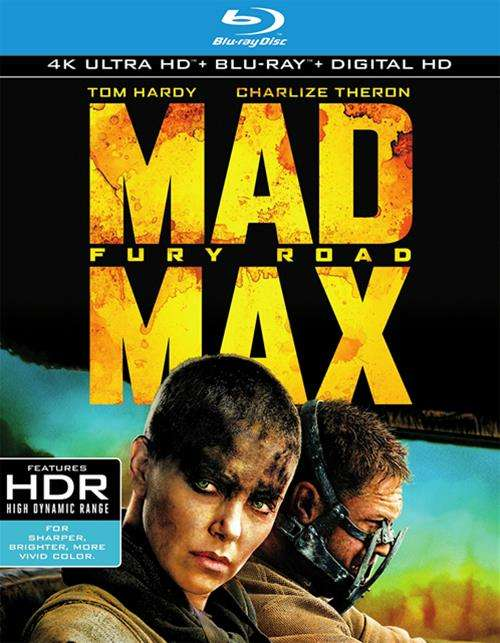 Mad Max: Fury Road (4K Ultra HD + Blu-ray + UltraViolet)