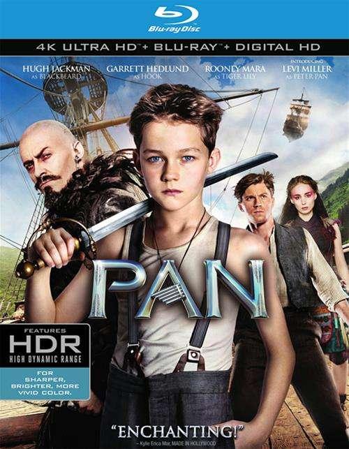 Pan (4K Ultra HD + Blu-ray + UltraViolet)