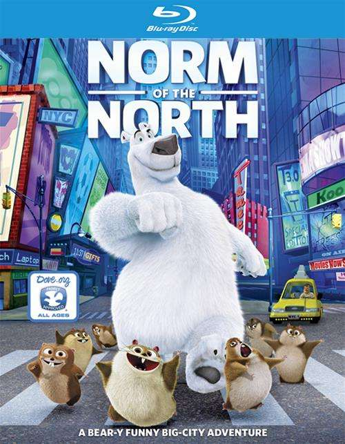 Norm Of The North (Blu-ray + DVD + UltraViolet)