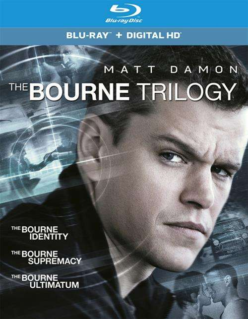 Bourne Trilogy, The (Blu-ray + UltraViolet)