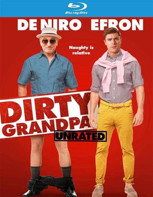 Dirty Grandpa (Blu-ray + DVD + UltraViolet)