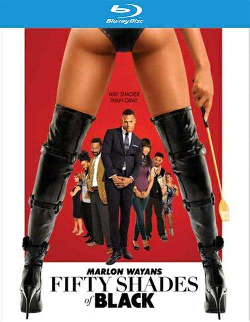 Fifty Shades Of Black (Blu-ray + UltraViolet)