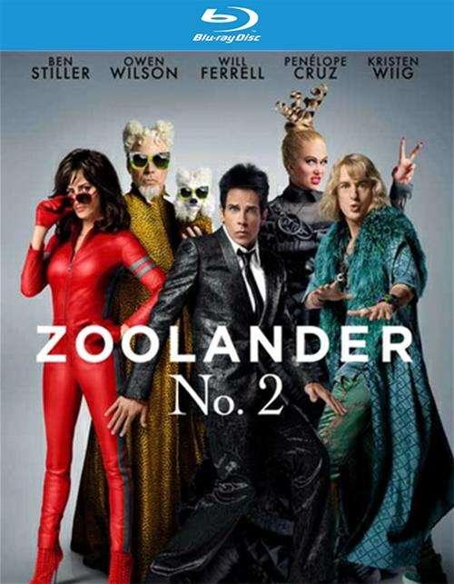 Zoolander 2 (Blu-ray + DVD + UltraViolet)