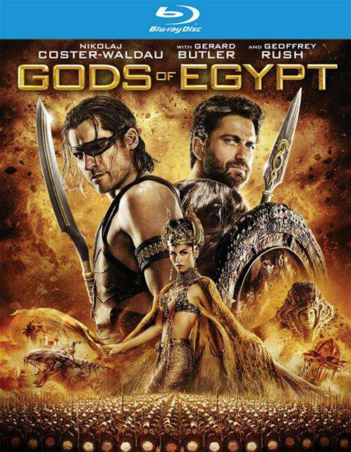 Gods Of Egypt (Blu-ray + UltraViolet)