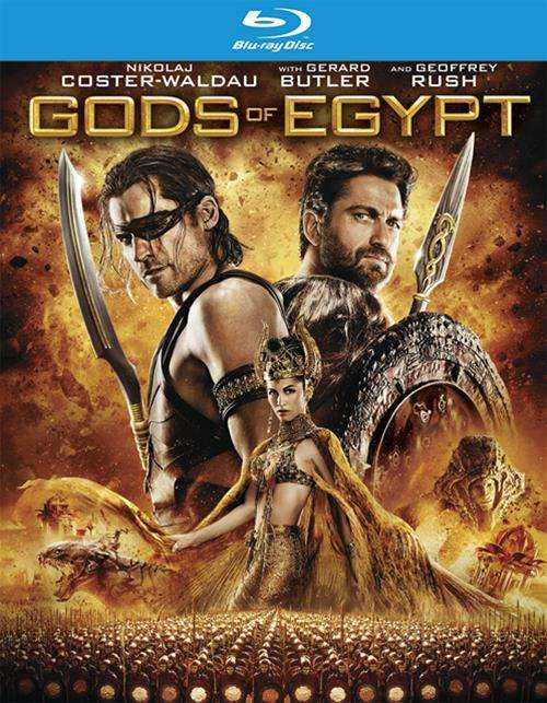 Gods Of Egypt (4K Ultra HD + Blu-ray + UltraViolet)