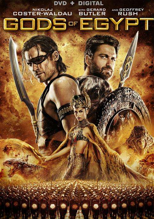 Gods Of Egypt (DVD + UltraViolet)