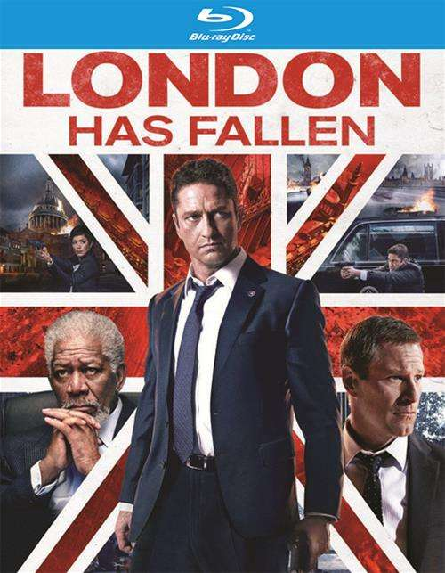 London Has Fallen (Blu-ray + DVD + UltraViolet)