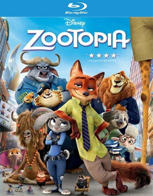 Zootopia (Blu-ray + DVD + Digital HD)