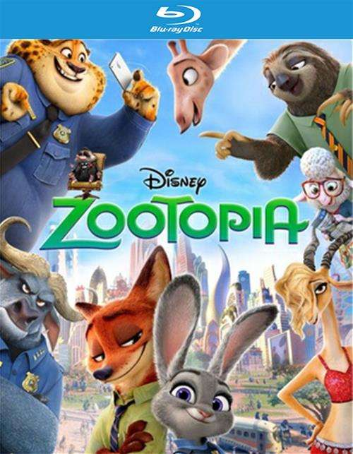 Zootopia (Blu-ray 3D + Blu-ray + DVD + Digital HD)