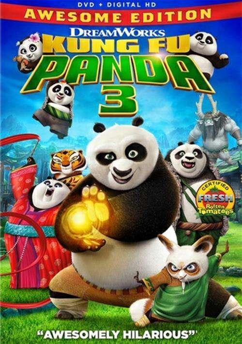 Kung Fu Panda 3 (DVD + UltraViolet)