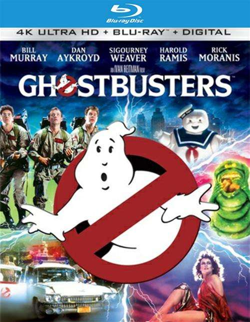 Ghostbusters (4K Ultra HD + Blu-ray + UltraViolet)