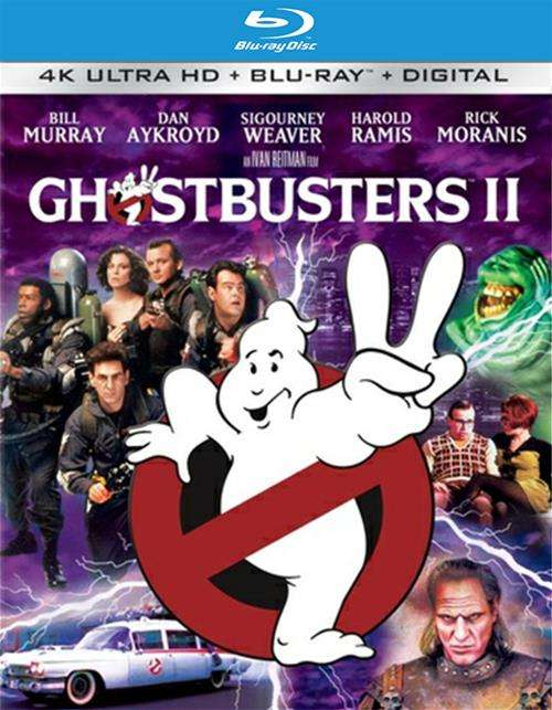 Ghostbusters 2 (4K Ultra HD + Blu-ray + UltraViolet)